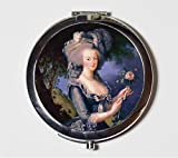 Marie Antoinette Compact Mirror French Revolution Queen France Make Up Pocket Mirror for Cosmetics