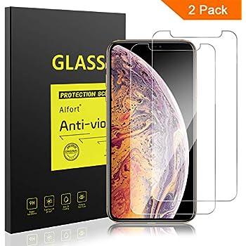 Amazon.com: Abafia - Protector de pantalla para iPhone XS ...