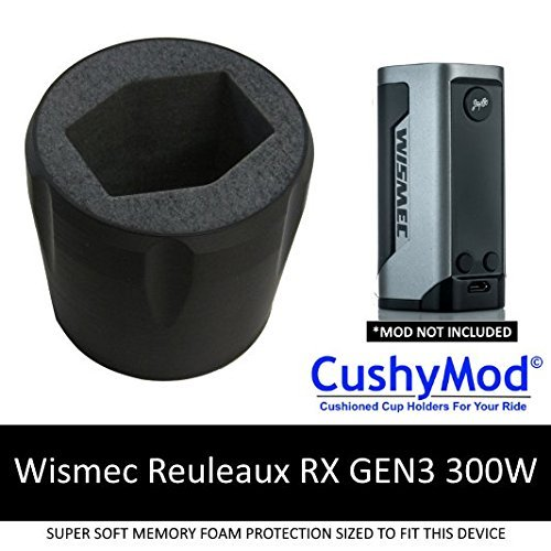 Wismec Reuleaux RX GEN3 300W CUP HOLDER by CushyMod [2948] cover wrap skin sleeve case car mod vape