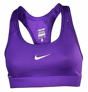 Women's Nike Pro Compression Sports Bra 411411-504 Purple Large (large)