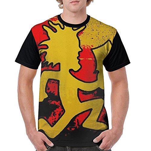 WeiGo T-shirts Men's Hatchet Man 3D Printed Casual T-Shirt Tee Shirt