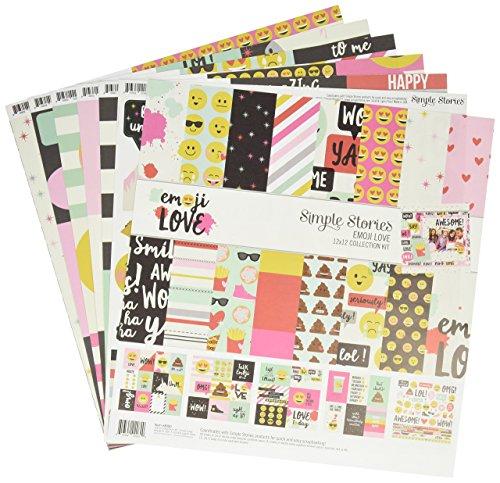 Simple Stories 8000 Emoji Love Collectio Kit