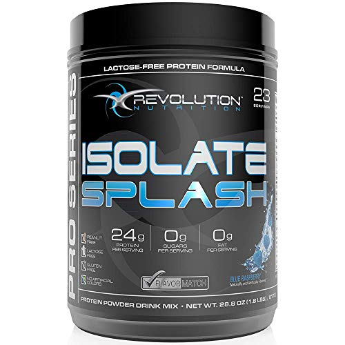 Revolution Nutrition Isolate Splash 1. 8 lb - Blue Raspberry