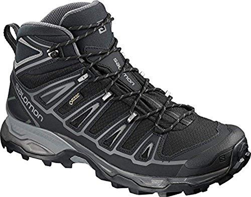 Salomon GTX Black Men's Hiking Ultra Mid Shade Black 2 X Quiet Spikes Boot OYgq4OSn