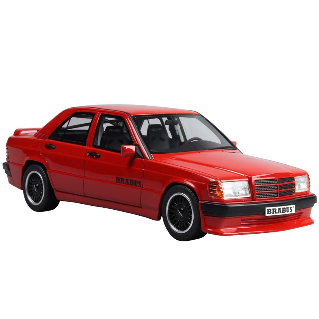 calidad de primera clase rojo GAOQUN-TOY 1 18 Mercedes 190E Babs 3.6S Benz Benz Benz Limited Resina Modelo de Coche (Color   rojo, Tamaño   25cm12cm8cm) 25cm12cm8cm  venta al por mayor barato