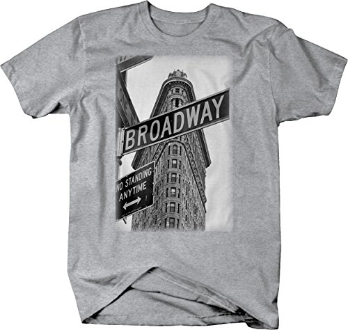 Broadway New York Building Sign Vintage Retro NYC Tshirt - - Fashion Shop Broadway Nyc