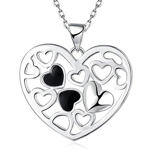 Impression 1Pcs Collier Collier romantique élégant collier charmant Collier Accessoire de bijoux pour filles collier élégant bijoux de mode pendentif de femmes