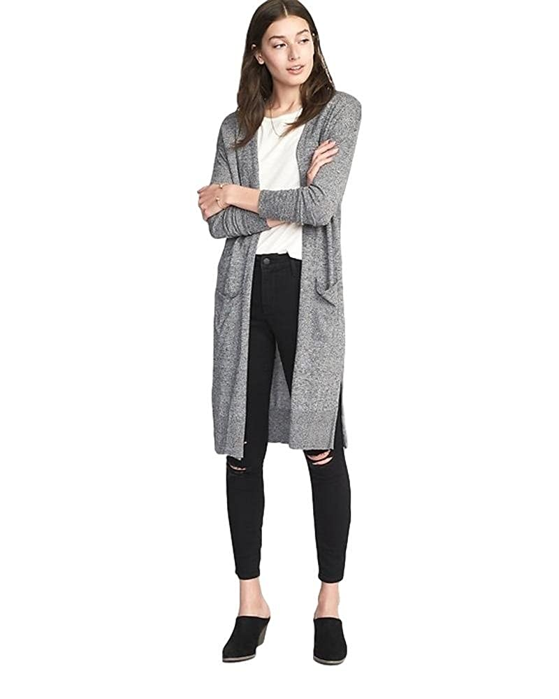 Old Navy Super-Long Open-Front Sweater for Women (Large) at Amazon Women s  Clothing store  0e150f626
