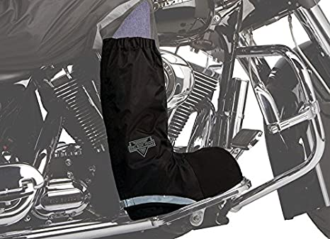 Nelson Rigg WPRB-100 Waterproof Motorcycle Rain Boot Covers Black Large WPRB-100-03-LG