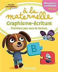 Graphisme-écriture premiers pas vers la lecture à la maternelle Moyenne section (MS : 4-5 ans)