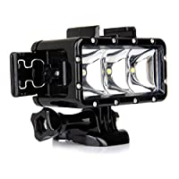 Lightdow Waterproof Underwater Diving LED Video Light