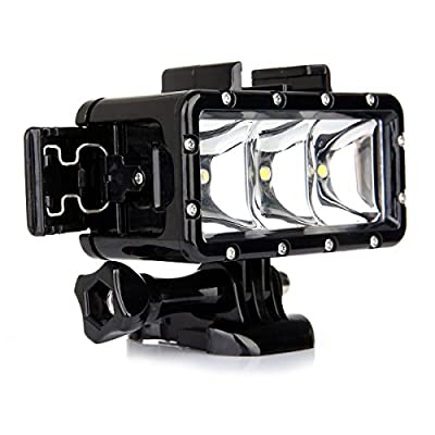 Lightdow Waterproof Underwater Diving LED Video Light by ZLY Technology