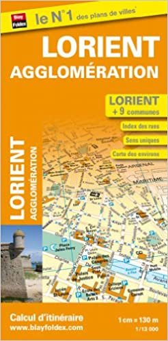 Livre Plan de Lorient et de son agglomération epub pdf