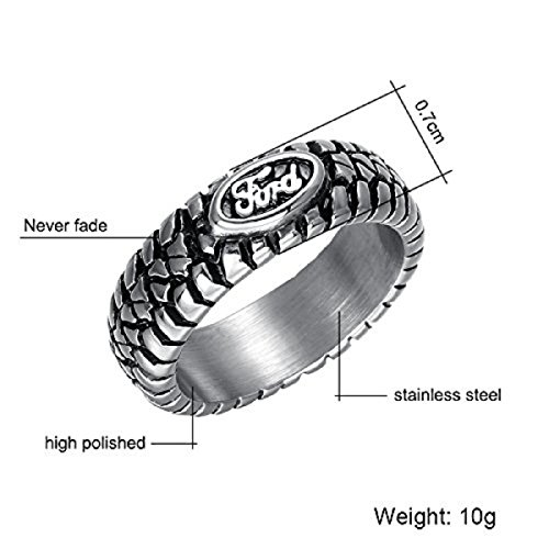 men tire tread ring - 7