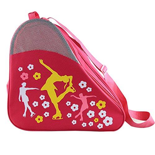 Skate Bag Hockey Bag Ice Roller Skates Carry Bag Pocket Accessories ()