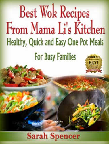 Best Wok Recipes Mama Kitchen ebook product image