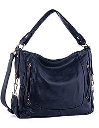Handbags for Women,UTAKE Women s Shoulder Bags PU Leather Hobo Handbags  Top-Handle Purse 1d81ecdf2d
