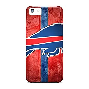 Great Hard Phone Cases For Iphone 5c With Provide Private Custom Stylish Buffalo Bills Skin Marycase88