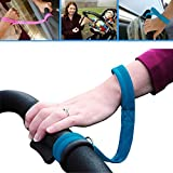 Safety Belt Wrist Straps for Baby Stroller - Great Safety Precaution for Hilly Walks - City Streets - Strong Wind
