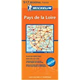 Michelin France Pays de Loire (Michelin Maps) (English and Multilingual Edition)