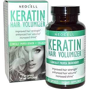 NeoCell Keratin Hair Volumizer - 60 CT