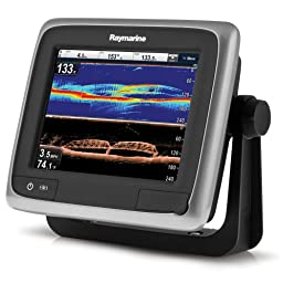 Raymarine a68 Multifunction/Sonar Display with Lighthouse Navigation Charts, 5.7\