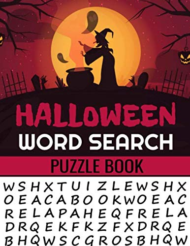 Puzzles To Print Halloween Crossword (Halloween Word Search Puzzle Book: 40 Large Print Challenging Puzzles About Monsters, Bats, Witches, Ghouls, Jack-O-lantern & more | Gift for Word Puzzles)