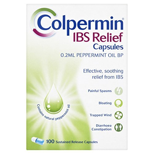 (Colpermin Ibs Bp Relief Peppermint Oil Capsules Pack Of 100)