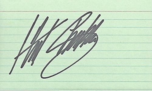 Hut Stricklin Signed - Autographed NASCAR Auto Racing 3x5 Inch Index Card - Guaranteed to pass PSA or JSA - Deals Hut