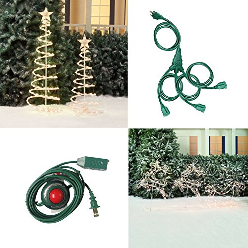 Outdoor Lighted Tree Sculpture - 5