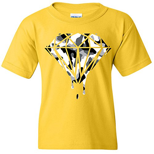 Price comparison product image Amazing Items Bleeding Diamond Ranger Theme Unisex Youth's T-Shirt, Large, Daisy