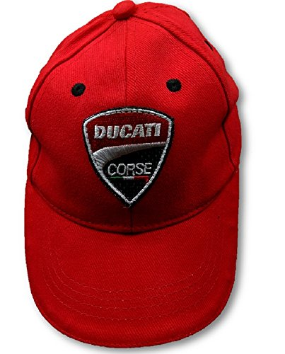 Ducati MotoGP BSB Superbike Corse Childrens Red Cap -