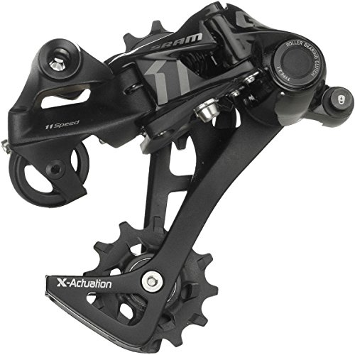 SRAM GX Bicycle Rear Derailleur with 1 x 11 Speed Long Cage, Black from SRAM0