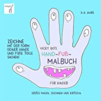 Hand-Fuß-Malbuch ab 3 Jahre
