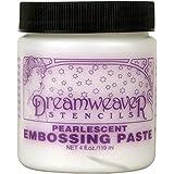 Stampendous gaufrage Dreamweaver Pâte 4oz-pearlescent