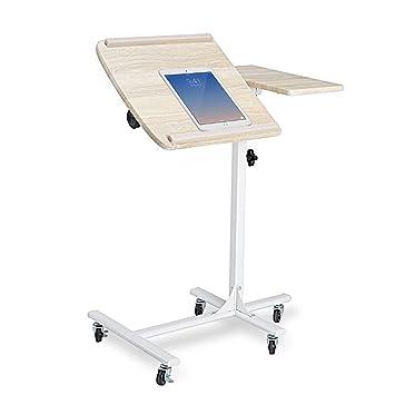 Coavas Mesa Escritorio Auxiliar para Ordenador Portátil Tablet con ...