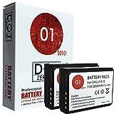 DOT-01 2X Brand Canon EOS 4000D Batteries for Canon EOS 4000D DSLR and Canon 4000D Battery Bundle for Canon LPE10 LP-E10