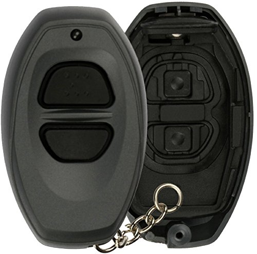 KeylessOption Just the Case Key Fob Keyless Entry Remote Shell Button ()