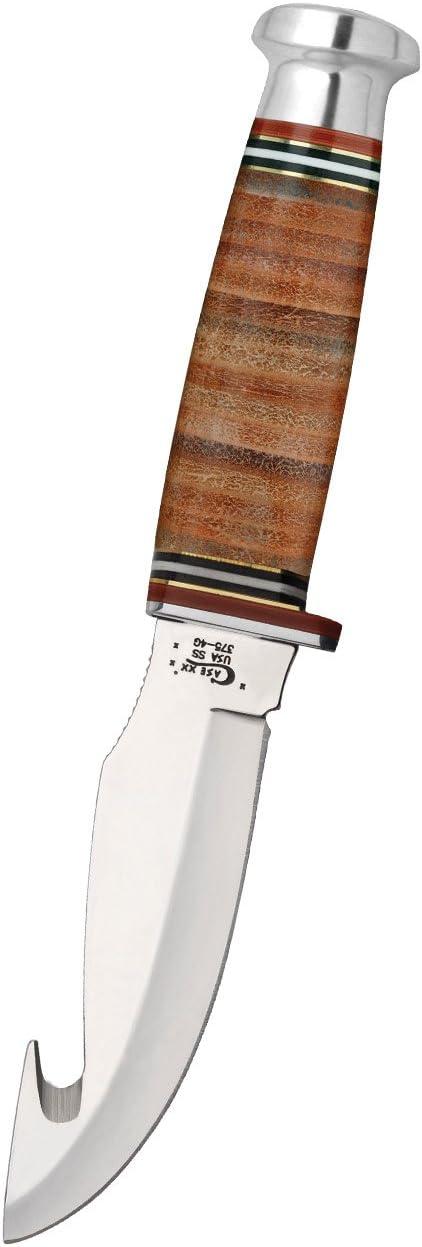 4. Case XX Gut Hook Hunter Fixed Blade Knife