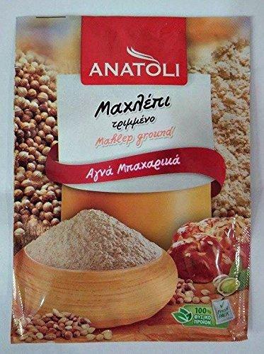 Ground Mahlep 2-PACK Mahlepi Mahaleb Mahlab 8gr Anatoli Bundle