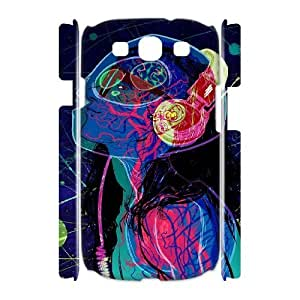3D Samsung Galaxy S3 Cases SKRILLEX for Rolling Stone, Bloomingbluerose, [White]