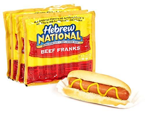 Hebrew National Beef Franks, 12 Oz (12 Pack) 84 Total Hotdogs