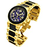 Invicta Men's 6142 Reserve Collection Ocean Reef Chronograph 18k Gold-Plated Watch