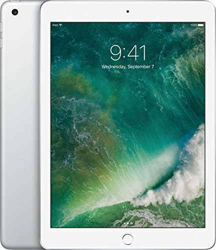 2017 Model Apple iPad 9.7-inch Retina Display with WIFI, 32GB, Touch ID, Apple Pay, Silver