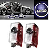 Spevert 1 Pair Benz Car Door Light Led HD Welcome Laser Projector Logo Courtesy Ghost Shadow Light for Benz ML E GL 4MATIC