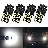 Antline 3157 3156 3057 4157 3056 LED Bulbs White, 12-24V Super Bright 1000