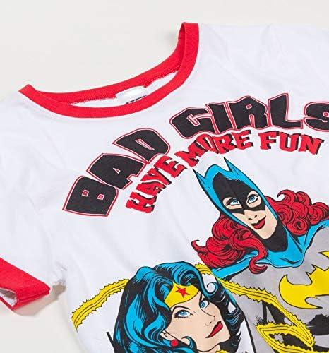 Womens DC Comics Bad Girls Have More Fun Pyjamas
