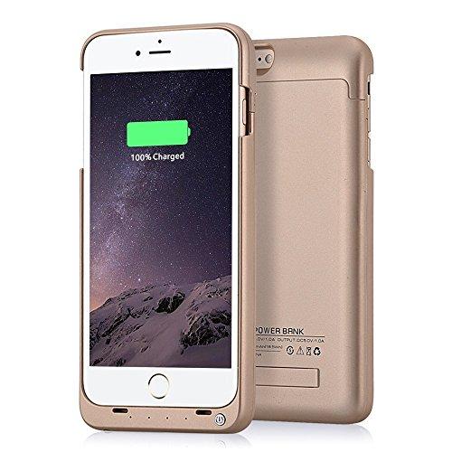 4000mah External Battery Case iPhone 6 Plus/ iPhone 6s Plus (Gold) - 7