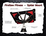 Firstlaw Fitness Spider Mount 200 - with Extensions - Heavy Punching Bag Hanger - for Heavy Bags from 120 LBS to 200 LBS - Made in The USA