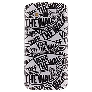 Teléfono Accesorios TPU Funda Suave Carcasa Samsung Galaxy Grand 2 SM-G7102 / SM-G7105LTE / SM-G7106 Bumper Protective Tapa Shell Caso Cubierta(off the wall)